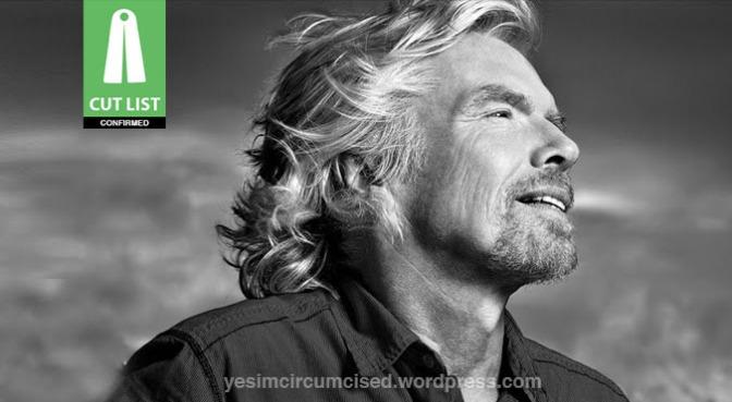 CUT LIST: Richard Branson